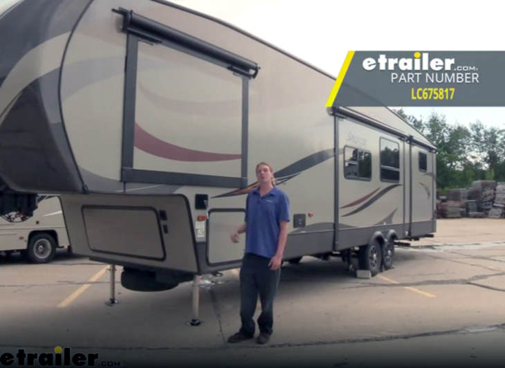 The etrailer electric jacking system.